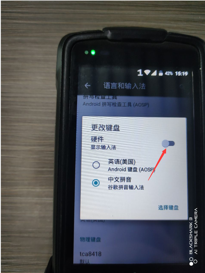 PDA 隐藏输入框